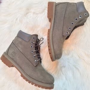 TIMBERLAND Grey Youth Boots